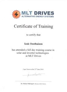 Izak Oosthuizen - MLT DRIVES