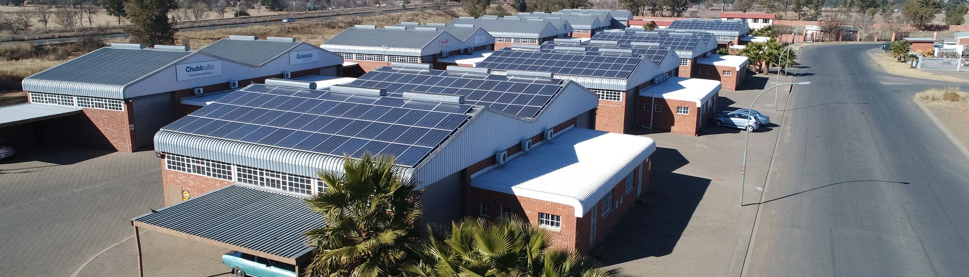 Eco Trades: Solar Power Systems for Warehouse Parks (Project: East End Park, Bloemfontein)