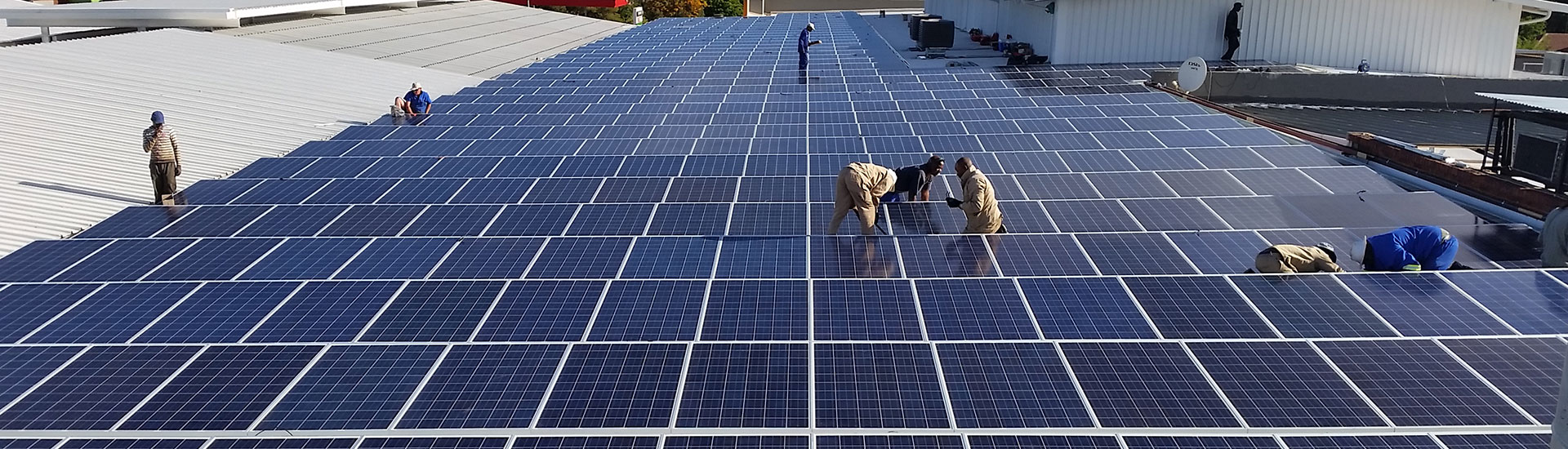 Eco Trades: Solar Power Systems for Shopping Malls (Project: Langenhovenpark, Bloemfontein)