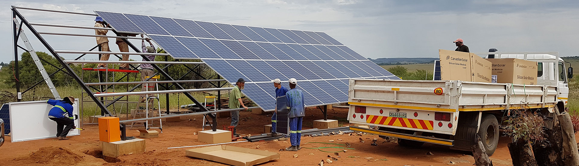 Eco Trades: Solar Power Systems for Off Grid/Remote (Project: Stuck in the Mud, Bloemfontein)