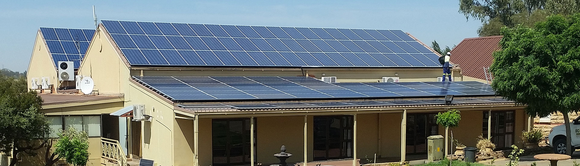 Eco Trades: Solar Power Systems for Spa and Hotels (Project: Bloem Spa Hotel)